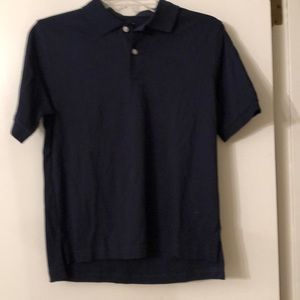 Land's End.  Blue polo.  Navy, new WOT.‼️